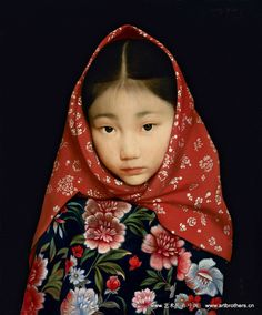 Wang Yidong.  This is actually a painting