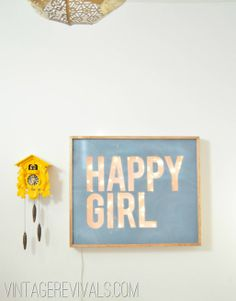 DIY Light UP Sign Tutorial