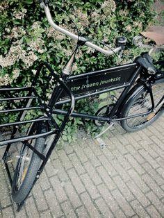 Frozen fountain bike | Amsterdam | Stylizimo Blog