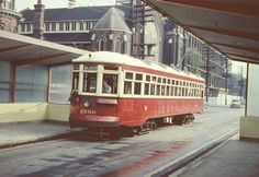 Vintage streetcar built in 1920's