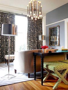 Functional Decor - Living Room Seating Options on HGTV