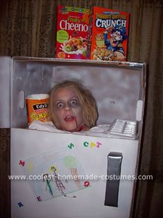 Freezer Head Halloween Costume