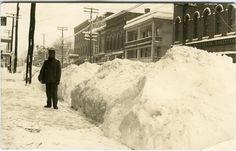 wellsville, NY photos | Winter Main Street, Wellsville, NY