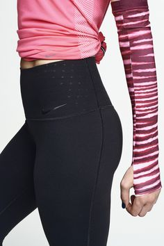 Your best fit ever. Complete coverage and comfort to keep you dry during your workout. The Nike Sculpt Capri.