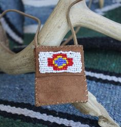 i want a little medicine pouch necklace
