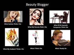 . beauti meme, funni stuff, bblogger shout, beauti blogger, blog stuff, true, makeup blogger, beauty, people