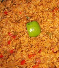 Annatto Rice With Chorizo - Hispanic Kitchen