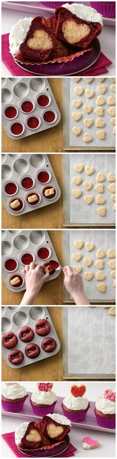 How To Make Surprise-Inside Cupcakes