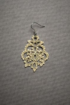 ann lace, bead, queens, lace earring, style pinboard, frivolita, tat earring, jewelri, earrings