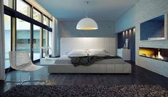 Modloft Bedroom: Well-appointed comfort.
