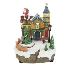 Puleo Animated Christmas Village with LED Lights ($107.96 Ace Hardware)