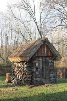 "Look , the original ""Tiny House"" !"
