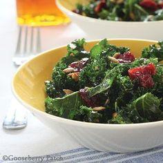 Gooseberry Patch Fresh Kale Salad Recipe