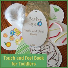Easter Egg Touch and Feel Book from Connecting Family & Seoul