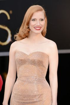 Jessica Chastain at the #Oscars   Click for more pictures!