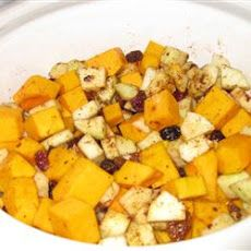 Slow cooker squash and apple recipe
