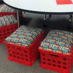 Guided reading chairs