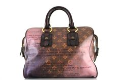 Louis Vuitton Limited Edition Graduate Bag (my favorite collection ever)
