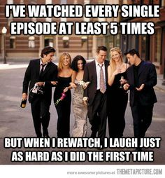 Yep! Gotta love Friends!