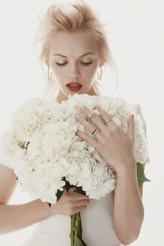 Bouquet Shot from the Neiman Marcus' May 2014 Lookbook