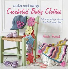 Maggie's Crochet · Cute & Easy Crocheted Baby Clothes
