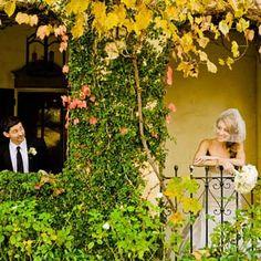 Romantic Weddings:  Finding love in Kenwood Inn's courtyard
