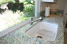 Recycled Glass Counter-top