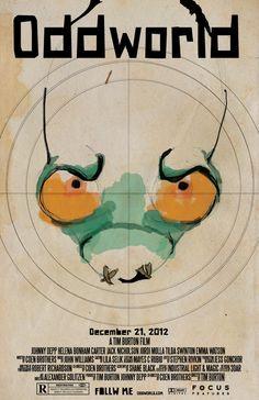 Oddworld movie poster #poster #oddworld #gaming
