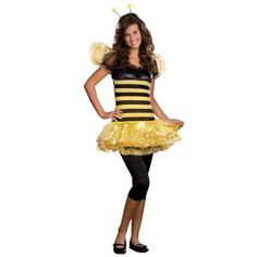 Busy Lil Bee (Light-Up) Teen Costume