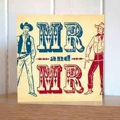 Western Wedding - gay wedding