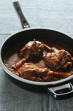 Cinnamon Braised Lamb Shanks