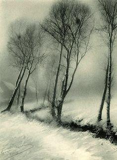 Léonard Misonne, Winter, Belgium (Hiver, Belgique), 1939