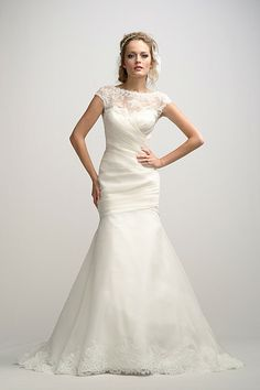 Be Mine. [[Watters Brides Frederique Gown Style 2026B]]