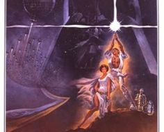 1977 Star Wars Original US Style A Film Poster