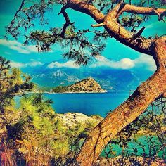 Island near Oludeniz, Turkey