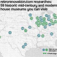 Visit a mid-century modern house museum! - Retro Renovation