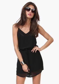 drawstr dress