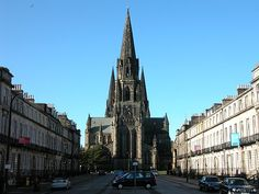 St. Mary's Cathedral in Edinbourgh, Scotland
