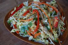 Thai Salad with Spicy Dressing