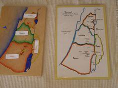 Pin Map of Israel