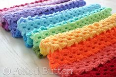 Pansy Parade #crochet blanket pattern for sale from @feltedbutton