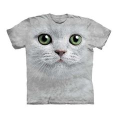 Green Eyes Face Tee now featured on Fab.