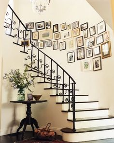 gallery stairs. simple is better