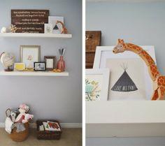 Real Nursery Inspiration: Karis Ruby's Modern Vintage Nursery
