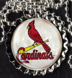 St Louis Cardinals Necklace on Etsy,
