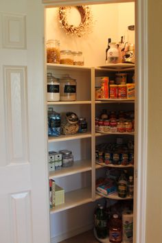 Never expected to think of a pantry as gorgeous, but here's one.