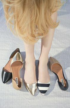 Halogen® 'Kayla' Pointy Toe Flat