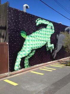 Street art, Wellington, New Zealand