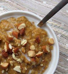 overnight pumpkin oatmeal