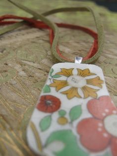 """broken china necklace by """"Previously a Plate"""""""